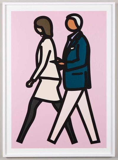 Julian Opie, 'New York Couple (7)', 2019