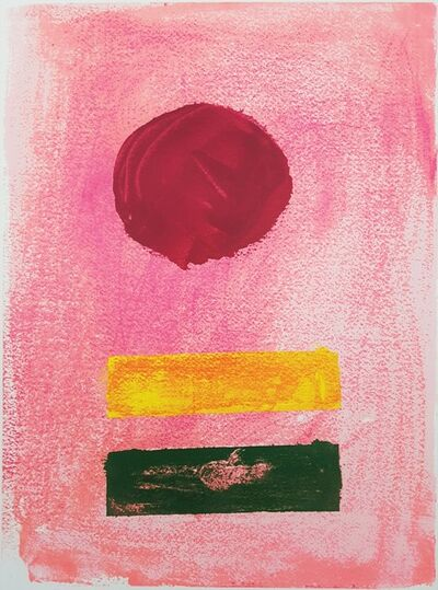 Adolph Gottlieb, 'Pink Ground', 1972