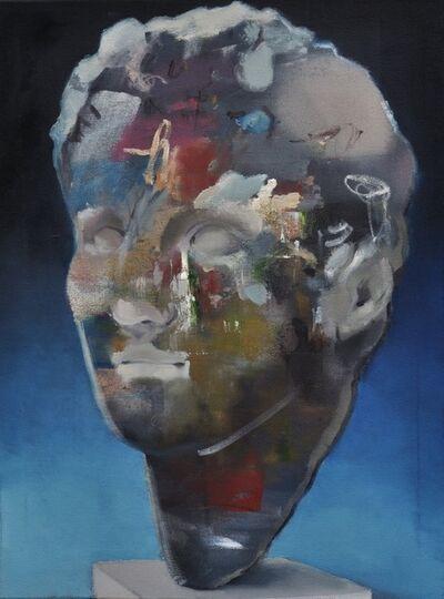 Jochen Pankrath, 'Abstrakte Philosophen XIX (das Zeichen)', 2018