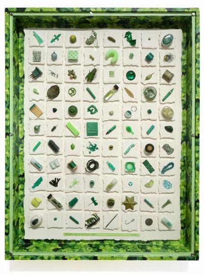 Barton Lidice Benes, 'Untitled (Green) Museum', 2004