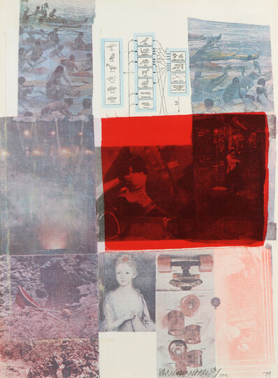 Robert Rauschenberg, 'From the Seat of Authority', 1979