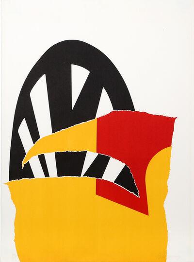 Burhan Dogançay, 'Walls '70', 1970