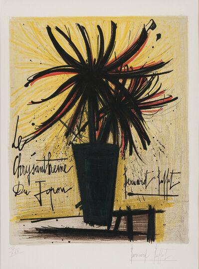 Bernard Buffet, 'Le chrysanthème du Japon', 1966