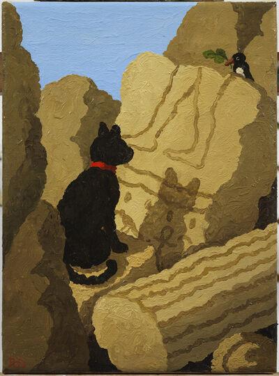 Ramiro Fernandez Saus, 'Egyptian Cat', 2020