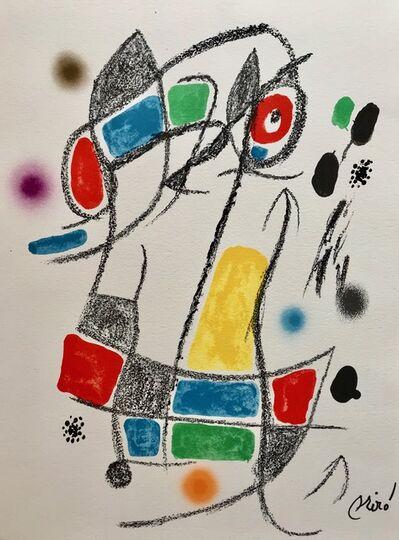 Joan Miró, 'Maravillas con varaciones acrósticas 1', 1975