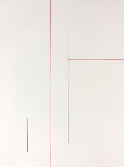 Joseph La Piana, 'Tension Relief Drawing Red 005', 2017