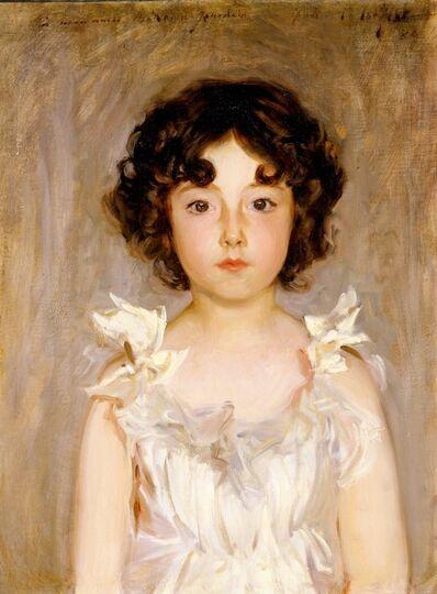 John Singer Sargent, 'Mademoiselle Jourdain', 1889