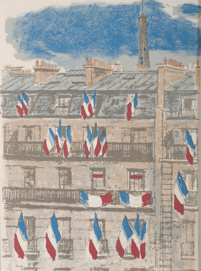 Maurice Brianchon, 'Le Tricolor, Regards sur Paris', 1960
