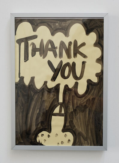 Michael Pybus, 'THANK YOU', 2008