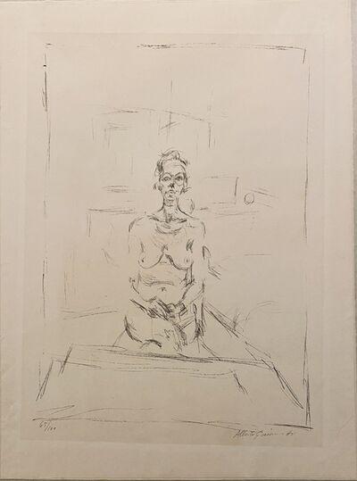 Alberto Giacometti, 'Femme Nue Assise III', 1965
