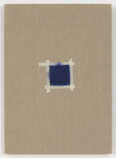 Saúl Sánchez, 'One After Another, (Square with Ultramarine Blue Paint)', 2015