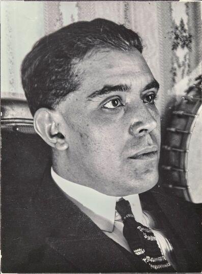 Man Ray, 'Juan Gris', 1922