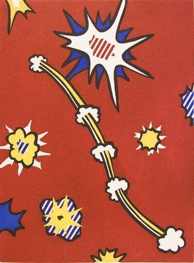 Roy Lichtenstein, 'De Denver au Montana, Depart 27 Mai', 1972