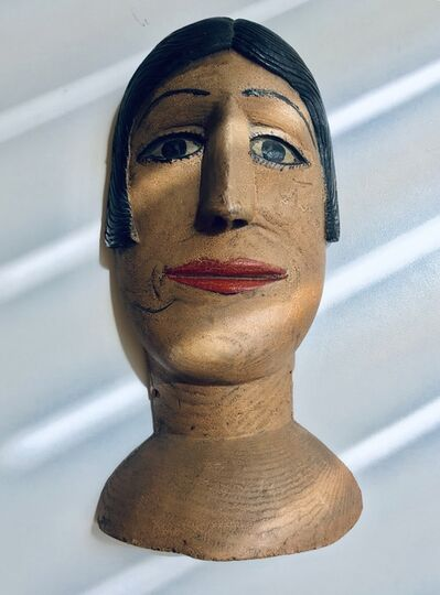 Unknown Artist, 'Carved Portrait of a Woman,', 1920-1930