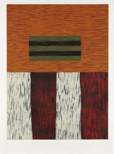 Sean Scully, 'This Way Up', 1993
