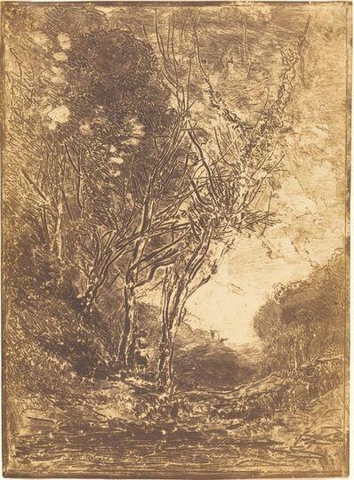 Jean-Baptiste-Camille Corot, 'Ambush (L'Embuscade)', 1858