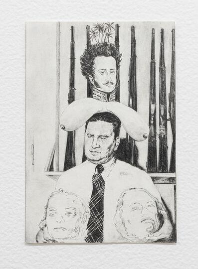 Filipe Lippe, 'Weltwehmut - Cabeça (Lampião, Maria Bonita, Dom Pedro I)', 2020
