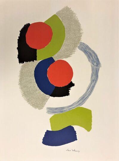 Sonia Delaunay, 'Composition géométrique', ca. 1972