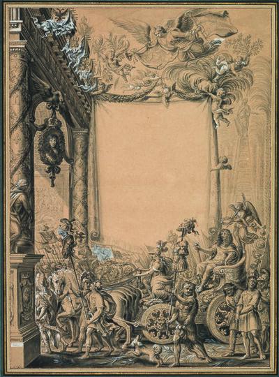 Pierre Paul Sevin, 'The Triumph of the Grand Condé', 1701