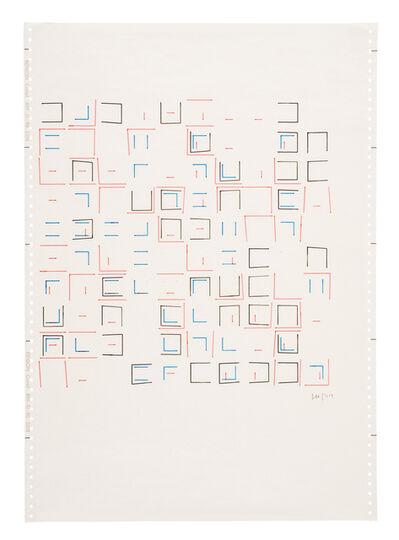 Vera Molnar, 'Untitled (9)', 1974