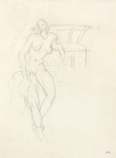 Henri Matisse, 'Nu, fauteuil au fond', ca. 1928