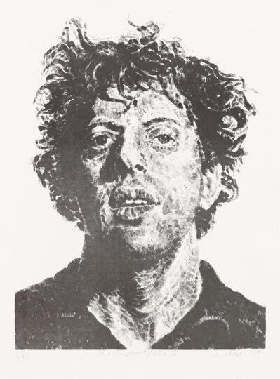 Chuck Close, 'Phil/Fingerprint, State II', 1981