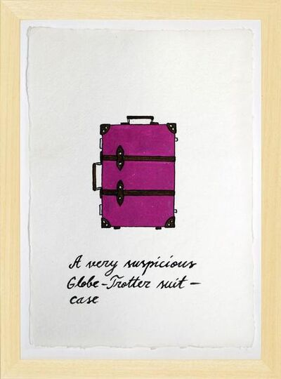 Marko Mäetamm, ' Suspicious Bags Globe Trotter Suitcase ', 2018