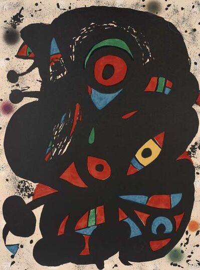 Joan Miró, 'Strindberg Mappen', 1976
