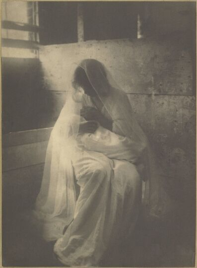 Gertrude Käsebier, 'The Manger (Ideal Motherhood)', 1899