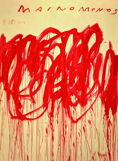 Cy Twombly, 'Untitled (Bacchus 1st Version IV)', 2004