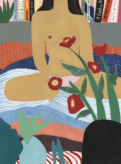 Mary Finlayson, 'Woman in Bed', 2017