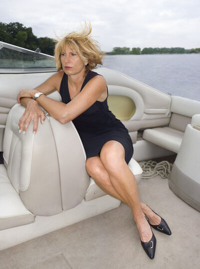 Ben Gest, 'Kathy on a Windy Boat', 2005