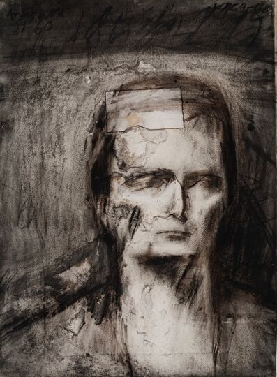 Frank Auerbach, 'Head of E.O.W. ', 1959-1960