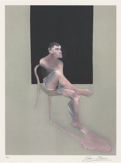 Francis Bacon, 'Portrait of John Edwards', 2002