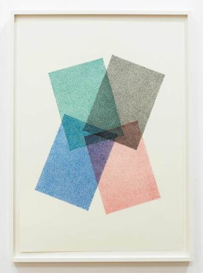 Ignacio Uriarte, 'Farbüberlagerung', 2017