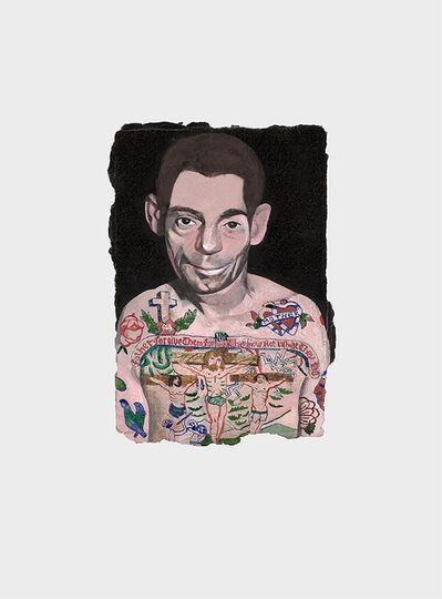Peter Blake, 'Tattooed People, Dan', 2015