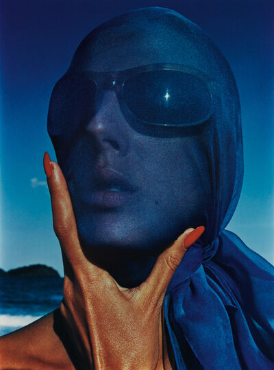 Hiro, 'Tilly Tazzani with Blue Scarf', 1963-printed later