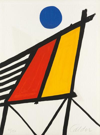 Alexander Calder, 'Blue Sun', 1971