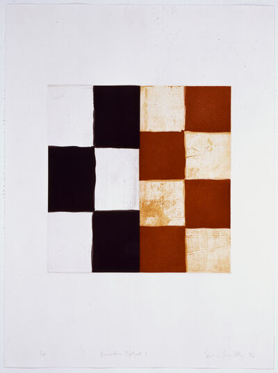 Sean Scully, 'Barcelona Diptych I ', 1996