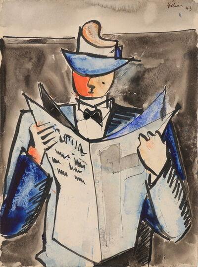 Jean Hélion, 'Journalier', 1943
