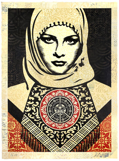 Shepard Fairey, 'Arab Woman', 2019