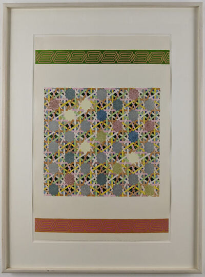 Joyce Kozloff, 'Pictures and Borders II', 1977
