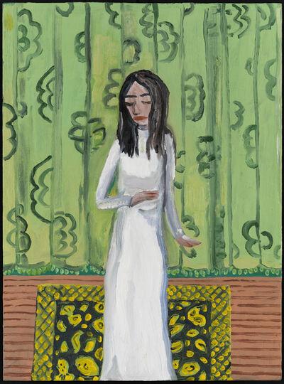 Brian Calvin, 'White Dress', 2013