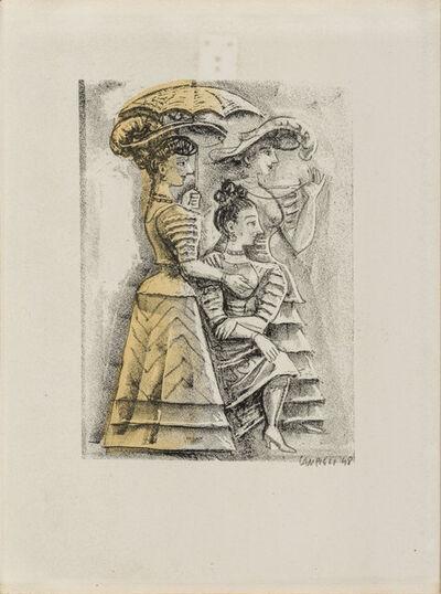 Massimo Campigli, 'Theseus', 1948