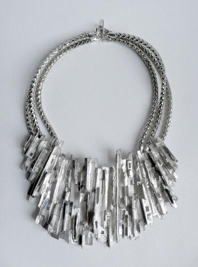 Tabor and Villalobos, 'Ridged Cityscape Medallion Necklace', 2012