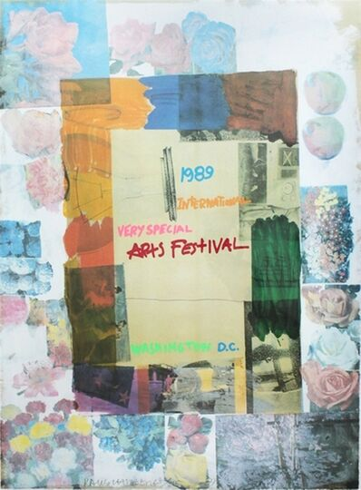 Robert Rauschenberg, 'International Very Special Arts Festival', 1989