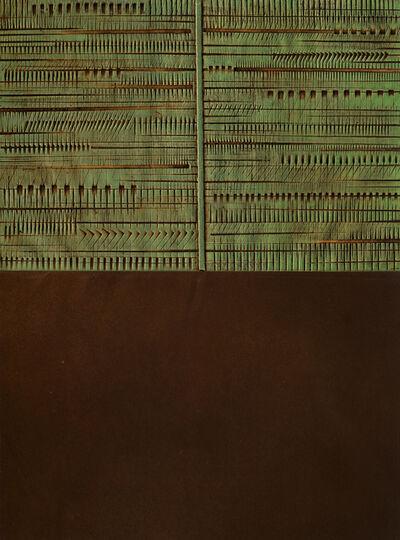 Arnaldo Pomodoro, 'Immagine Con Risvolto', 1976