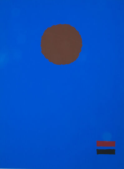 Adolph Gottlieb, 'Blue Night', 1970
