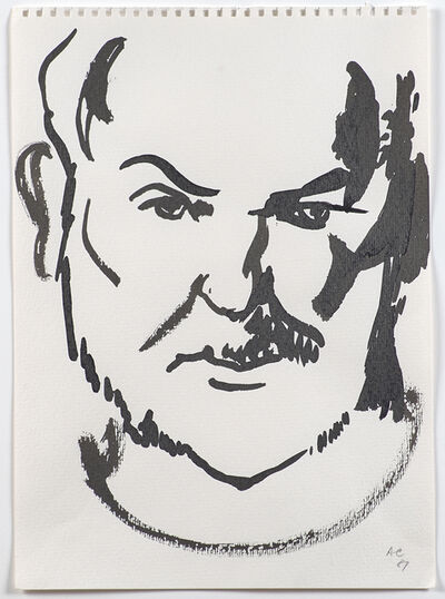 Anthony Caro, 'Self Portrait', 1987