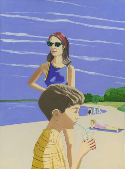 Alex Katz, 'Beach Scene', 1966